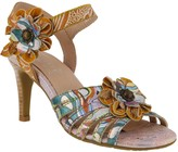 Spring Step L'Artiste by Leather Ankle Strap Sandals - Keiko