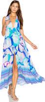 Caffe Crossfront Maxi Dress