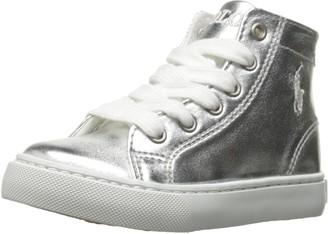 Polo Ralph Lauren Kids Unisex-Child Slater MID Sneaker