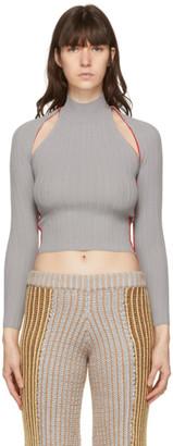 Eckhaus Latta Grey Dream Sweater