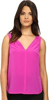 Trina Turk Women's Mavy Top Ultra Pink Blouse