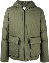 Etro padded hood coat - men - Cotton/Feather Down/Polyamide/Cupro - S