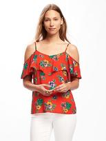Old Navy Relaxed Off-the-Shoulder Floral Cami for Women
