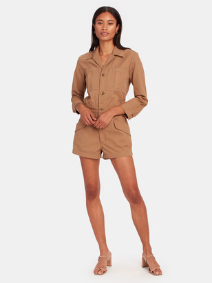 TRAVE Portia Long Sleeve Romper