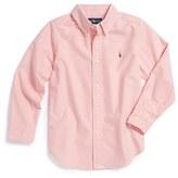 Ralph Lauren Boy's Oxford Button Down Sport Shirt