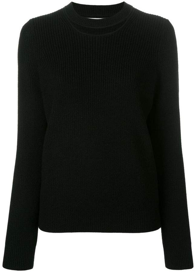 Rag & Bone Jean cut-out detail jumper