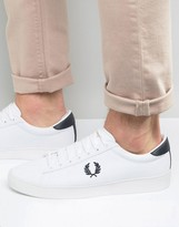 Fred Perry Spencer Canvas Trainers
