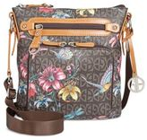 Giani Bernini Floral Signature Crossbody, Only at Macy's