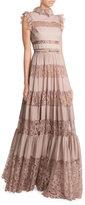 Elie Saab Floor Length Dress with Lace