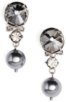 Miu Miu Women's Queen Jewels Classic Clip-On Earrings