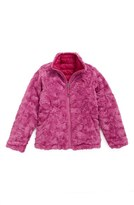 The North Face Girl's 'Mossbud Swirl' Reversible Water Resistant Jacket