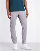 Armani Jeans Honeycomb-knit Stretch-cotton Jogging Bottoms