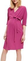 Topshop Women's Dolman Wrap Maternity Dress