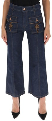See by Chloe Wide Leg Jeans