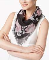INC International Concepts Rose-Print Triangle Scarf, Created for Macy's