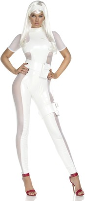 Forplay Women's Thunderous Catsuit and Headband