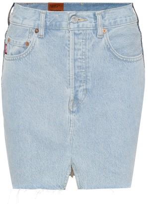 Vetements X Levi's denim miniskirt