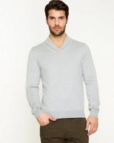 Le Château Rayon Blend Shawl Collar Sweater