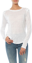 Generation Love Patti Lace Up Long Sleeve Tee
