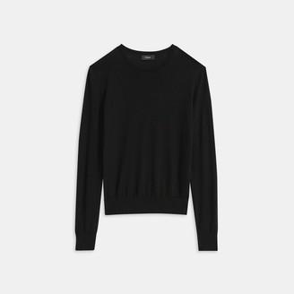 Theory Crewneck Sweater in Regal Wool