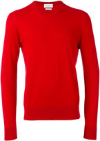 Ballantyne V-neck jumper