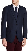 Tommy Hilfiger Ethan Two Button Notch Lapel Plaid Sport Coat