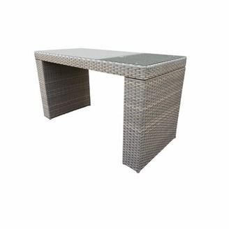 Romford Wicker Bar Table Sol 72 Outdoor