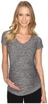 Beyond Yoga V-Neck Maternity Tee Women's T Shirt