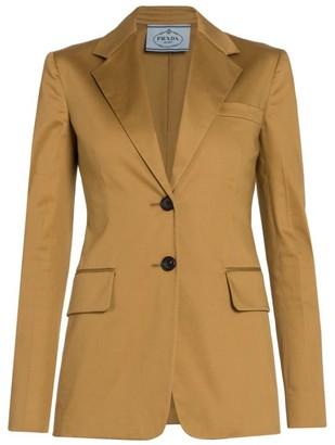 Prada Stretch-Cotton Jacket