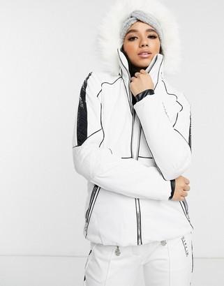 Dare 2b X Julien Macdonald Highness ski jacket in white