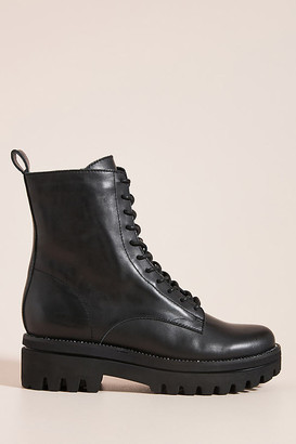 Dolce Vita Prym Lace-Up Boots By in Black Size 8.5