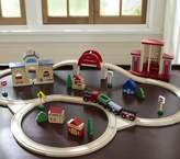 Pottery Barn Kids Wooden Train Set