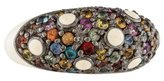 MCL by Matthew Campbell Laurenza Multicolor Sapphire & Enamel Ring