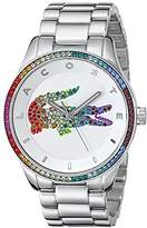 Lacoste Women's 2000869 Victoria Crystal-Accented Stainless Steel Watch