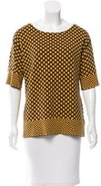 Tory Burch Knit Honeycomb Top