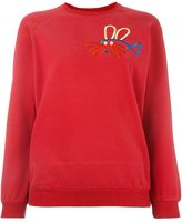 Peter Jensen fish rabbit sweatshirt