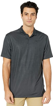 Nike Dry Vapor Graphic Polo (Dark Smoke Grey/Dark Smoke Grey) Men's Clothing
