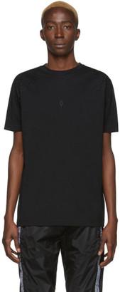 Marcelo Burlon County of Milan Black Shoulder Wings T-Shirt