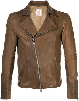 Guidi Leather Biker Jacket