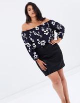 Leatherette Mini Skirt