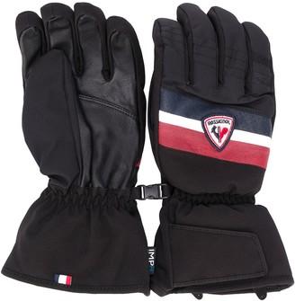 Rossignol contrast logo gloves