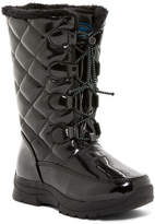 Khombu Darcie Faux Fur Lined Quilted Winter Boot (Little Kid)