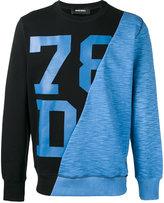 Diesel printed sweatshirt - men - Cotton - M