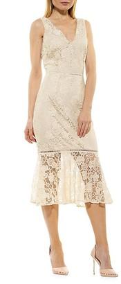 Alexia Admor Kourtney Lace Sheath Dress
