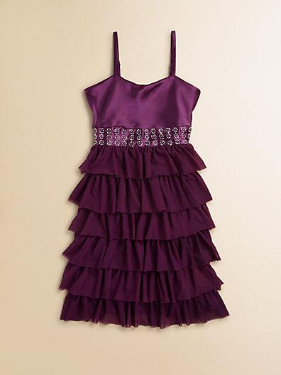 Flowers by Zoe Girl's Ruffled Party Dress