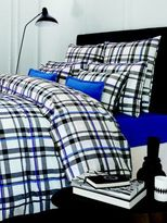 Descamps Amaury Ivoire Plaid Queen Duvet