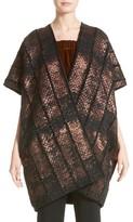 Zero Maria Cornejo Women's Gaban Reversible Jacquard Coat