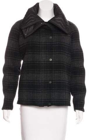 Christopher Raeburn Wool Plaid Coat