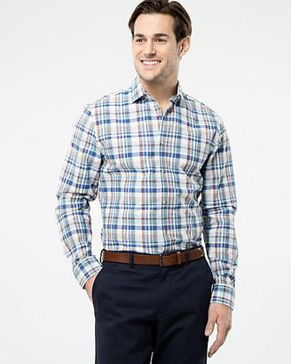 Le Château Check Cotton Athletic Fit Shirt