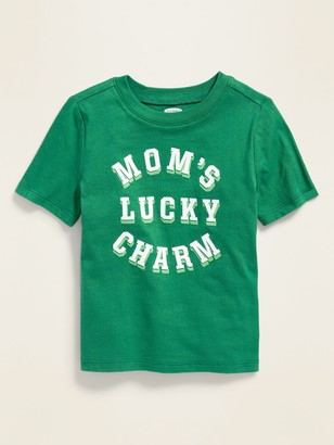 Old Navy St. Patrick's Day Graphic Tee for Toddler Boys